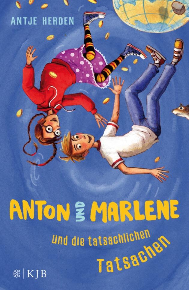 Bucheinband Antje Herden Anton und Marlene